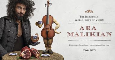 Ara Malikian en Lleida. La Increíble Gira Mundial de Violín