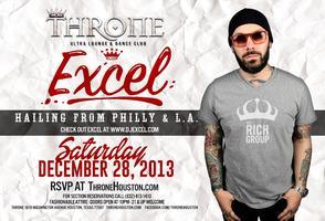 Throne Presents: DJ Excel Sat Dec 28