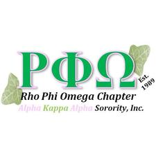 Rho Phi Omega Chapter of Alpha Kappa Alpha Sorority, Incorporated logo