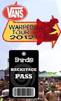 BLUSH BACKSTAGE SHINDIG AT WARPED: July 25th