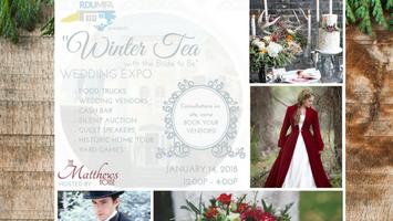 RDUMFA Wedding Expo - Winter Tea w/ the Bride to Be