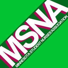 Minnesota Student Nurses' Association logo
