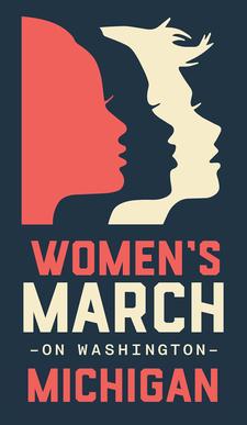 Women's March Michigan logo