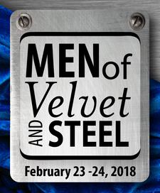 MEN of Velvet and Steel Conferences logo