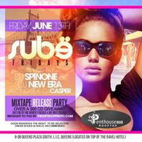 Sube Friday's @ Penthouse808 Rooftop - 347.829.9972