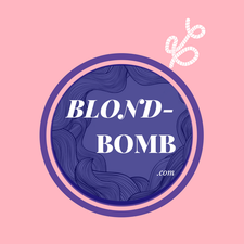 Blond Bomb Russian Hair Extensions  logo