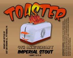 TOASTER Imperial Stout Bottling Day