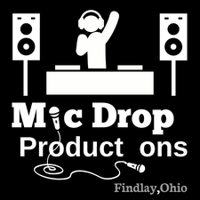 MicDrop Productions logo