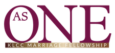 As ONE Marriage Fellowship 203.814.7740 logo