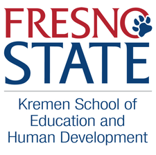 Kremen School of Education and Human Development at Fresno State logo
