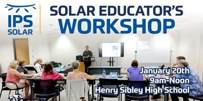 IPS Solar - Solar Educators Workshop - Henry Sibley