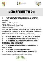 Ciclo informativo 2.0: Drogas y Alcoholismo en los...