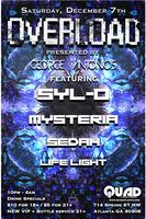 Overload at QUAD ft. Electro, Nu Disco, Glitch Hop and...