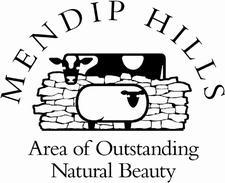 Mendip Hills AONB logo