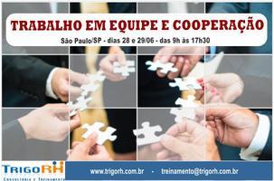 Trabalho em Equipe & Cooperação / SP