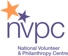 National Volunteer and Philanthropy Centre (NVPC) logo