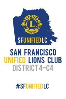 San Francisco Unified Lions Club logo