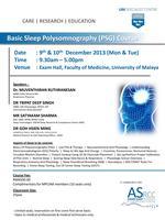 UMSC - Basic Sleep Polysomnography (PSG) Course
