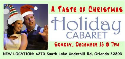 A Taste of Christmas Holiday Cabaret