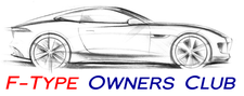 F-Type Owners Club USA logo