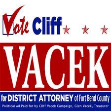 Cliff Vacek Campaign logo