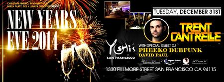 San Francisco New Years Eve. NYE 2014 at the Gorgeous...