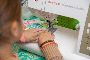 machine-sewing 101 for kids
