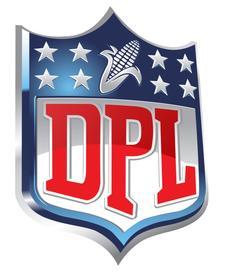 DPL Cornhole  logo