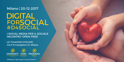 Eventi Free Open 'Digital for Social: Digital e Social...