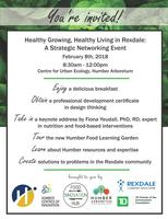 Healthy Growing, Healthy Living in Rexdale: A...