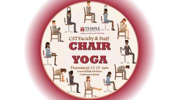 CST Faculty & Staff Chair Yoga