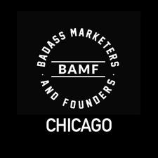 Badass Marketers & Founders Chicago  logo