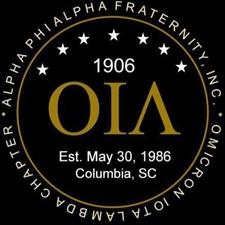 Omicron Iota Lambda (OIΛ) Chapter of Alpha Phi Alpha Fraternity, Inc. logo