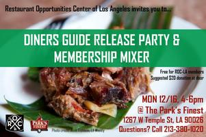 ROC-LA 2014 Diners Guide Release Party & Membership...