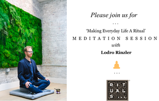 Meditation at Rituals 143 Berry Street