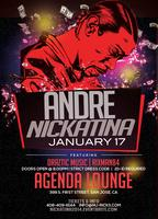 Agenda Lounge Presents: Andre Nickatina Live