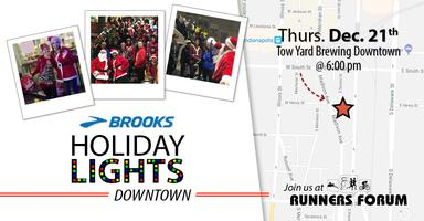 Holiday Light and Hot Chocolate Run DOWNTOWN INDY