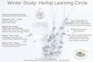 Winter Study: Winter Herbal Learning Circle - Broths,...