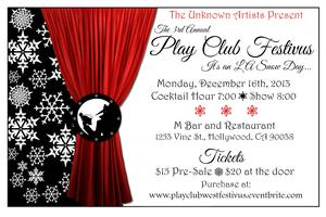 Play Club West's 3rd Annual Festivus