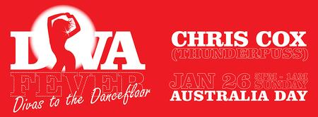 DIVA FEVER: Australia Day Starring DJ Chris Cox
