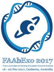 Franco-Australian Astrobiology and Exoplanet School and Workshop logo