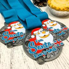 Fun Santa Run  logo