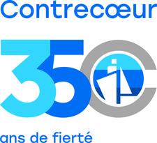 Corporation des fêtes du 350e anniversaire de Contrecoeur logo