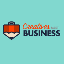 Creatives Meet Business logo