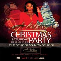 THIS SATURDAY :: OLD SCHOOL VS NEW SCHOOL CHRISTMAS...