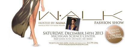 Walk Fashion Show 8th edition Saturday,December 14th...