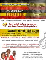 """2nd Annual GALA Fundraiser"" for Children Sure House Foundation"