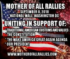 Mother of All Rallies logo