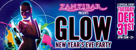 GLOW New Year's Eve Party 2014 @ ZANZIBAR
