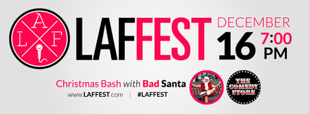 LAFFEST Hosts Special X-Mas Red Carpet Party for Wounded Warrior...
